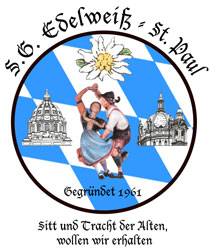 Logo of S.G. Edelweiss St. Paul German Folk Dance Club